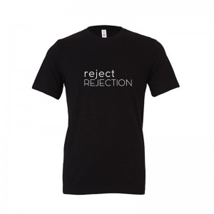 Koszulka, T-shirt, unisex, REJECT REJECTION, czarna