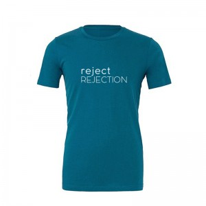 Koszulka, T-shirt, unisex, REJECT REJECTION, deep teal